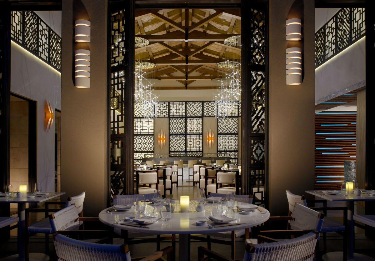 Inbi restaurant, Costa Navarino, Greece - mkv design