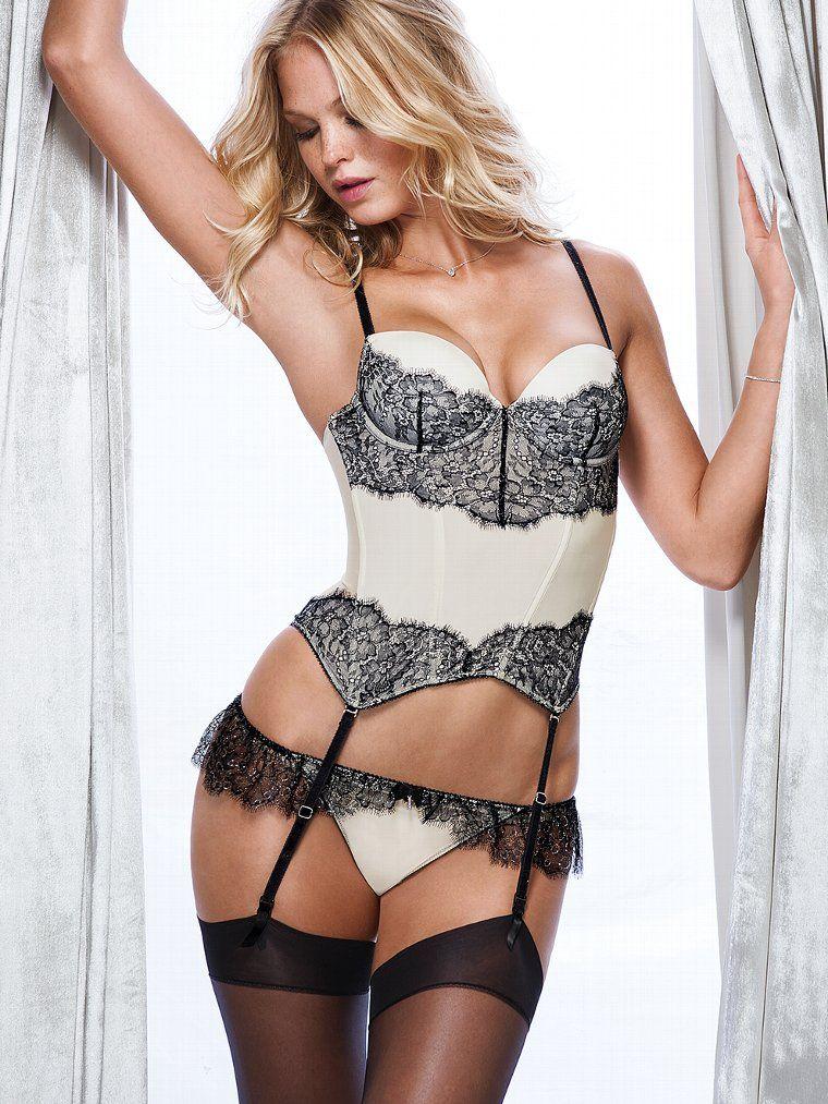 4381284a809 Chantilly Lace Bustier - Dream Angels - Victoria s Secret