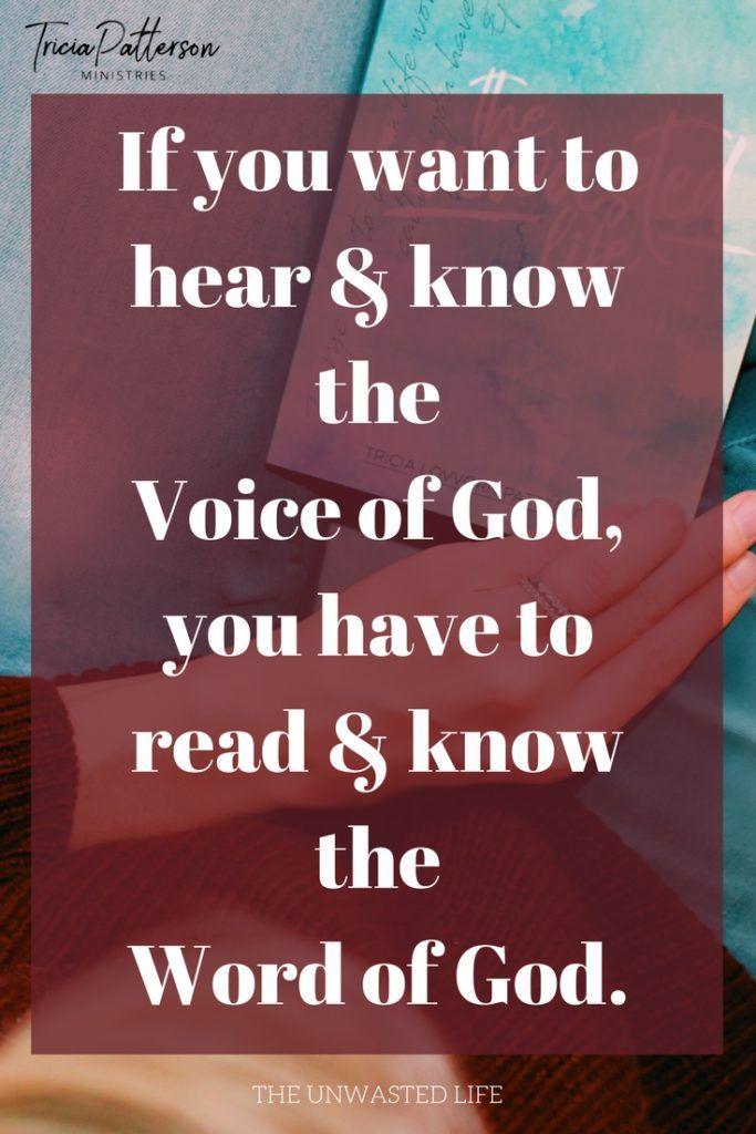 STG | Hearing God's Voice Bible Study