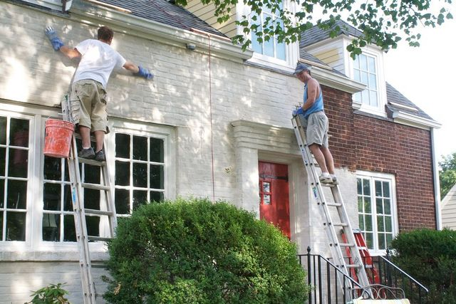 Img 4432 bricks curb appeal and stucco finishes - Exterior paint coverage on stucco ...