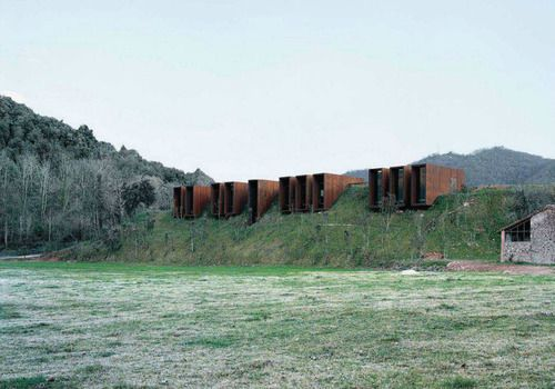 Casa rural designed by rcr arquitectes girona spain via subtilitas - Casa rural spain ...