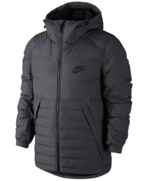 32bb12464df7 Nike Men s Down Jacket - Gray XL