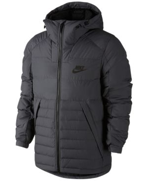 026d9621db49 Nike Men s Down Jacket - Gray XL