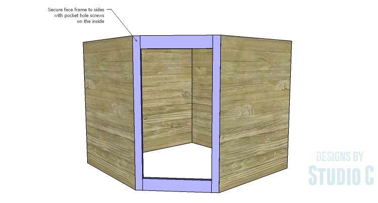 Strange Diy Plans To Build A Diagonal Corner Base Kitchen Home Remodeling Inspirations Genioncuboardxyz