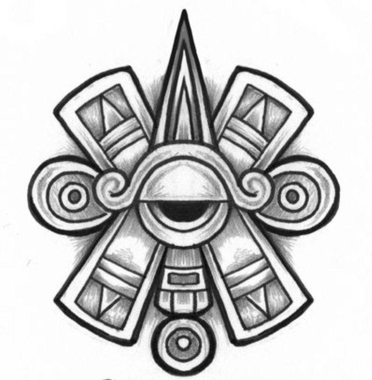 Black And Grey Aztec Tattoo Design Aztec Tattoo Designs Aztec Tattoo Aztec Symbols