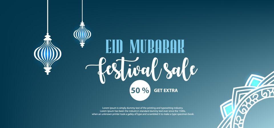 Pin On Eid Mubarak Festival Sale