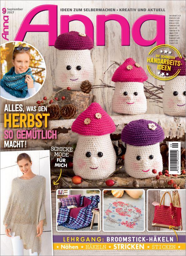Zeitschrift Anna Nr 92017 Alles Was Den Herbst So Gemütlich