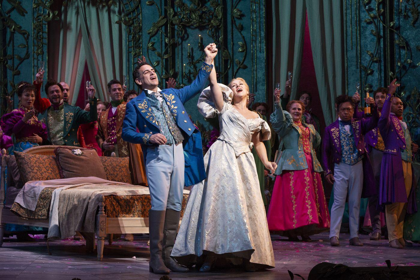 Yannick Nezet Seguin S La Traviata At The Met Brings
