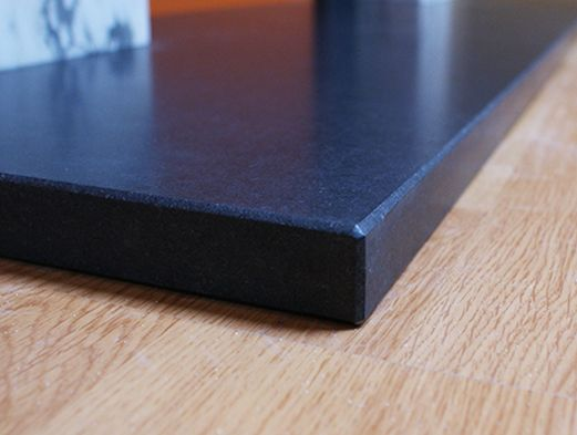 Best Materials For Fireplace Hearths Picture Of Honed Slate Slate Hearth Granite Hearth Hearth Pad