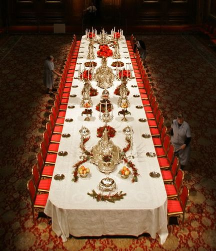 Christmas Parties In Windsor: BRITAIN WINDSOR CASTLE SILVER