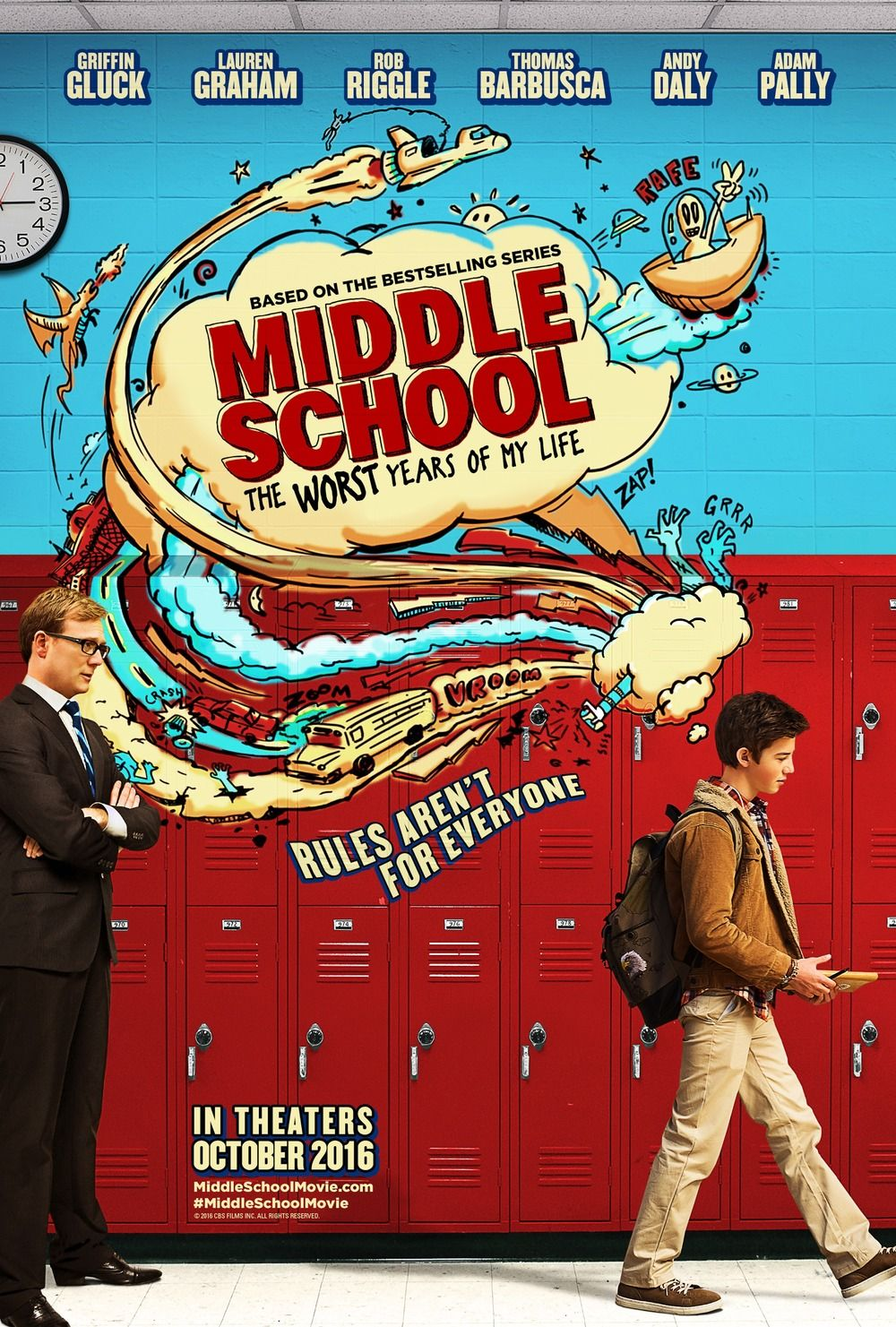 Middle School The Worst Years Of My Life Dvd Release Date Redbox Netflix Itunes Amazon My Life Movie Middle School Movie Middle School