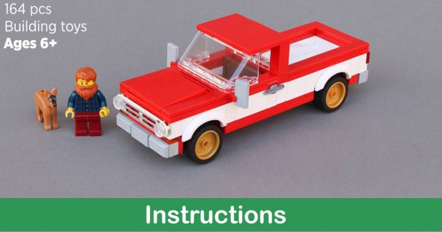 Pickup truck (With images) Classic pickup trucks, Lego