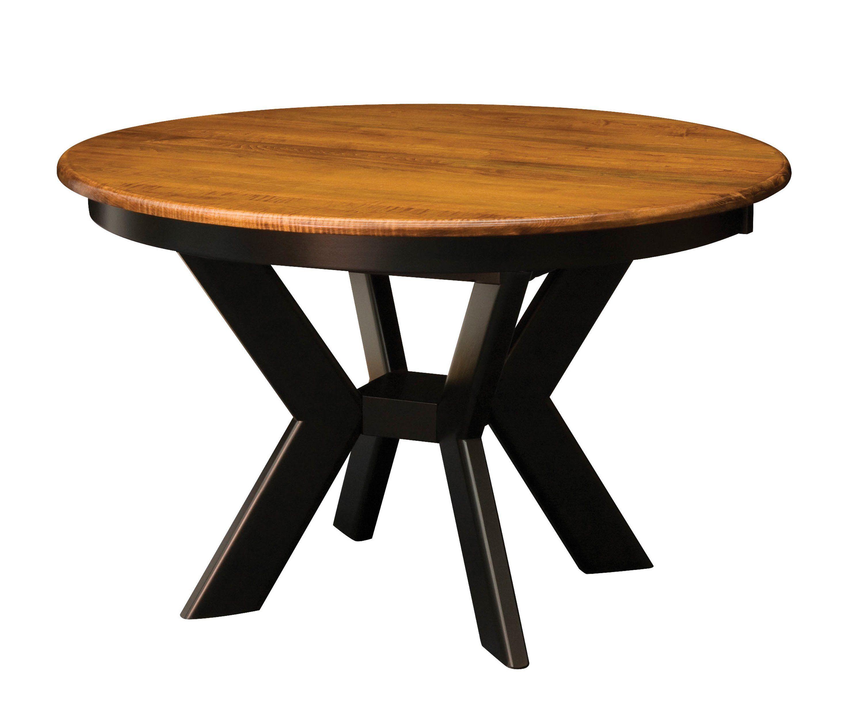Kenwood Table Ok Amish Furniture 918 236 3808 With Images Amish Furniture Pedestal Dining Table Dining Table Black