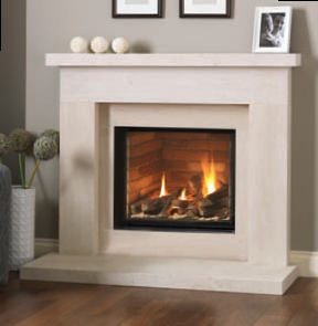 Infinity 480fl Beckford Limestone Suite Chester Fireplace
