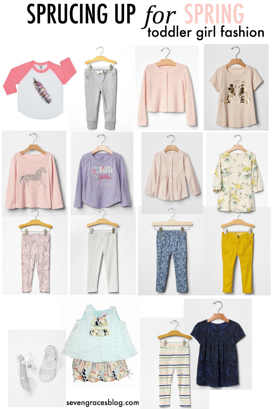Toddler girl fashion sprucing up for spring toddler girls fashion