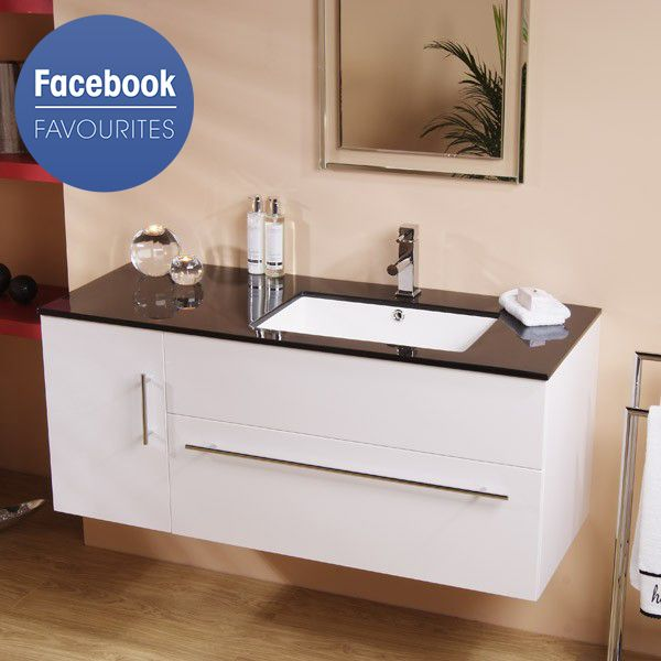 Eden 120 Wall Mounted Vanity Unit Only 307 95 Click The Photo