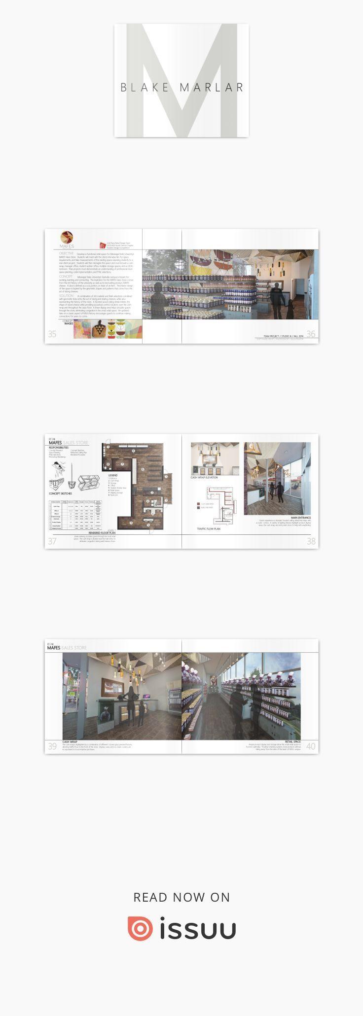 Blake marlar interior design portfolio  collection of my works from the program at mississippi state university also rh pinterest