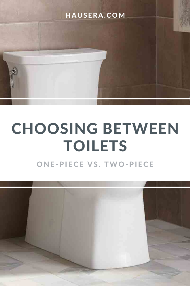 Should You Get A One Piece Or Two Piece Toilet In 2020 Guest Bathrooms Toilet Diy Home Improvement