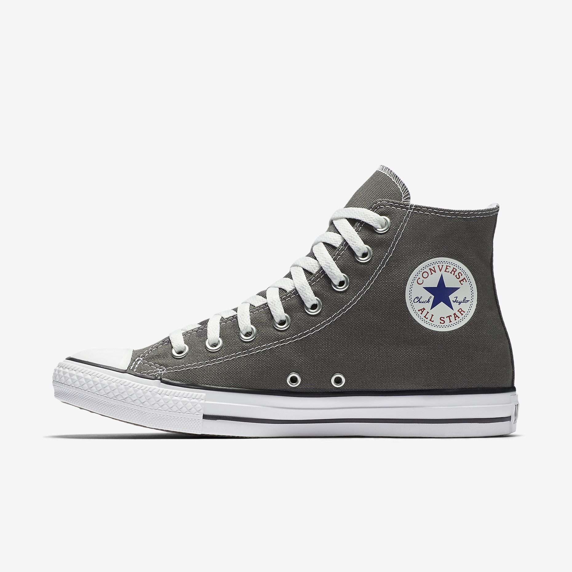 33e30aa45868a6 Converse Chuck Taylor All Star Womens High Top Charcoal