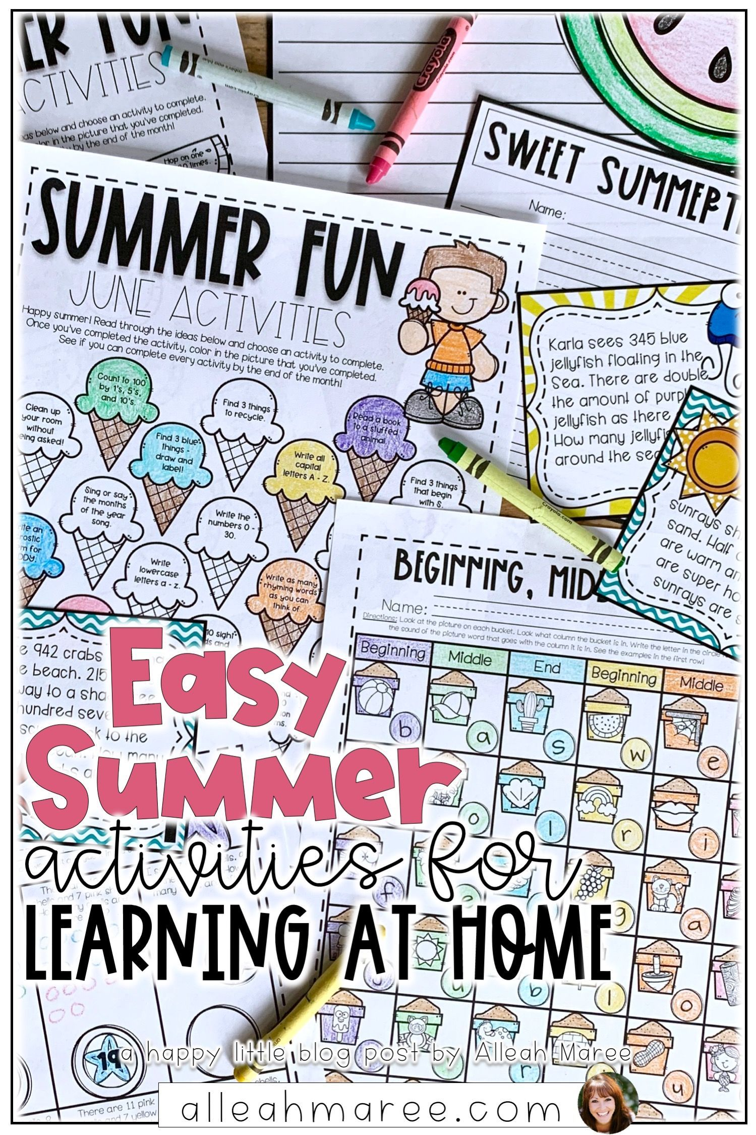 Pin On Learning At Home Activities