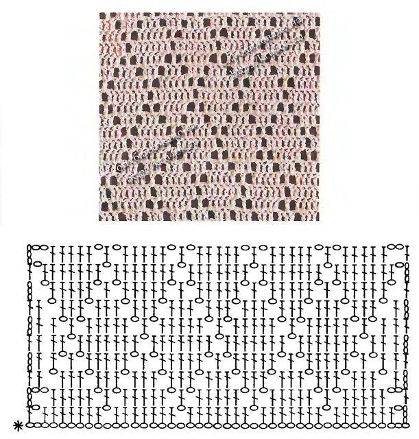 Uncinetto d\'oro: Tunica di pizzo! | Crochet - Puntos | Pinterest ...