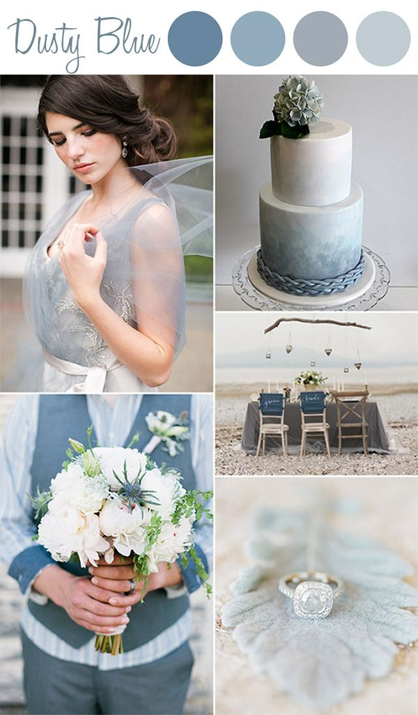 6 Perfect Shades Of Blue Wedding Color Ideas And Wedding Invitations