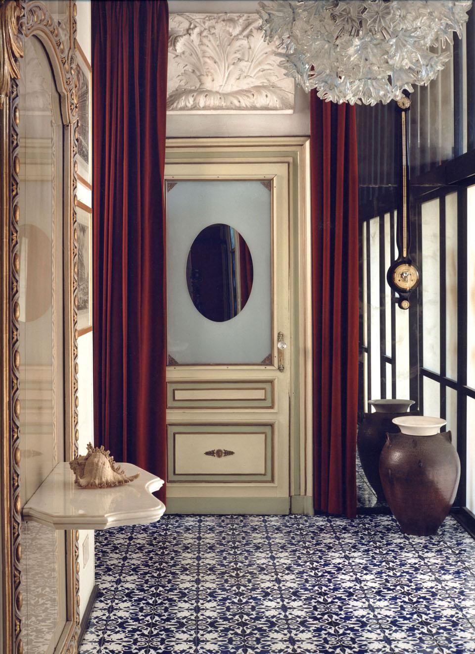 Museo casa mollino ferrari disegno del pavimento for Architettura di interni