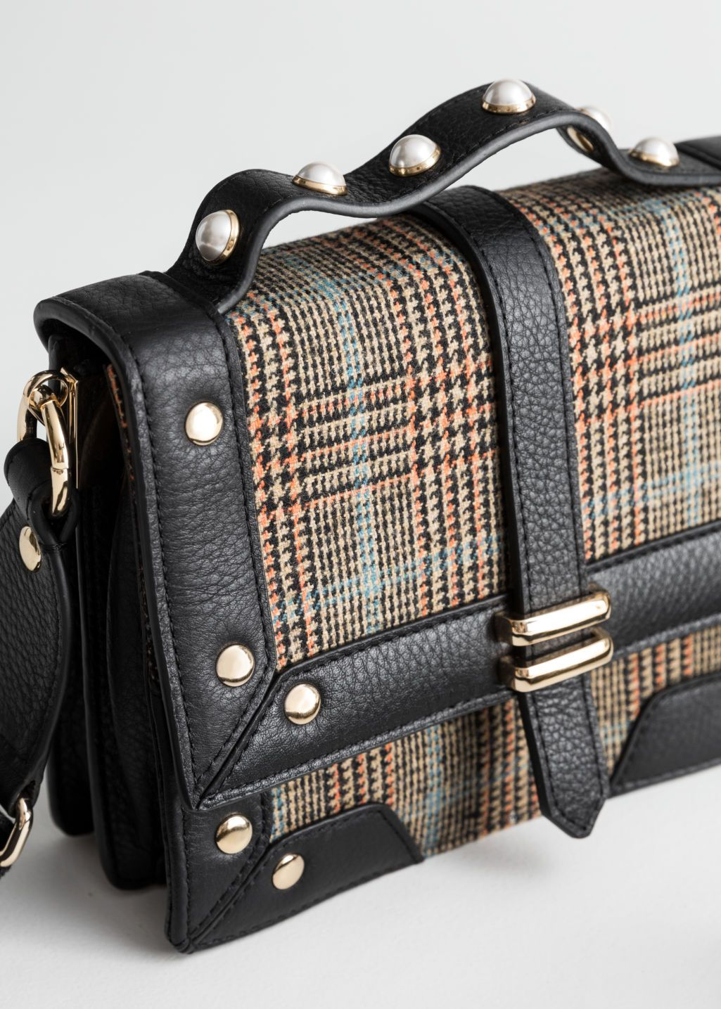 Structured Small Accordion Bag Bags, Crossbody bag