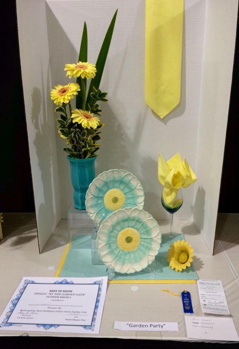 Ozark Empire Fair 2015 Flower Show I By the Garden Gate