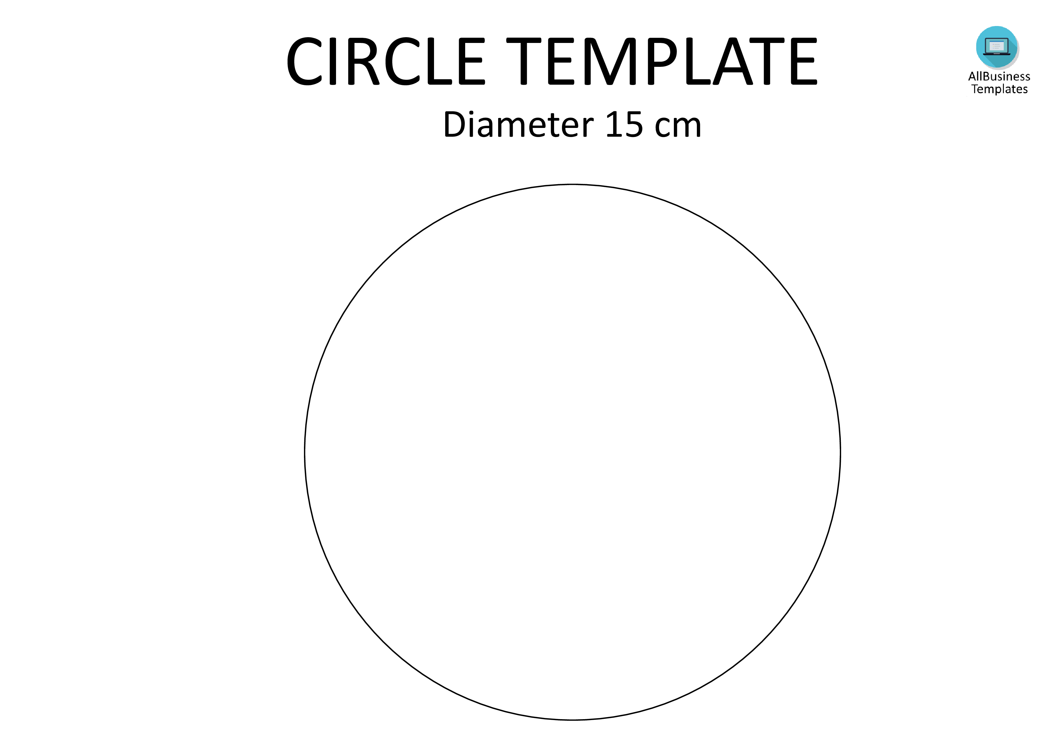 Circle Template A Diameter Cm  Do You Need A  Cm Diameter