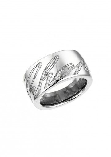 Chopard Ring Chopardissimo Ring 18k white gold and diamonds