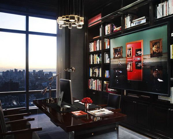 splendid dark furniture ideas for executive home office sets decor ...