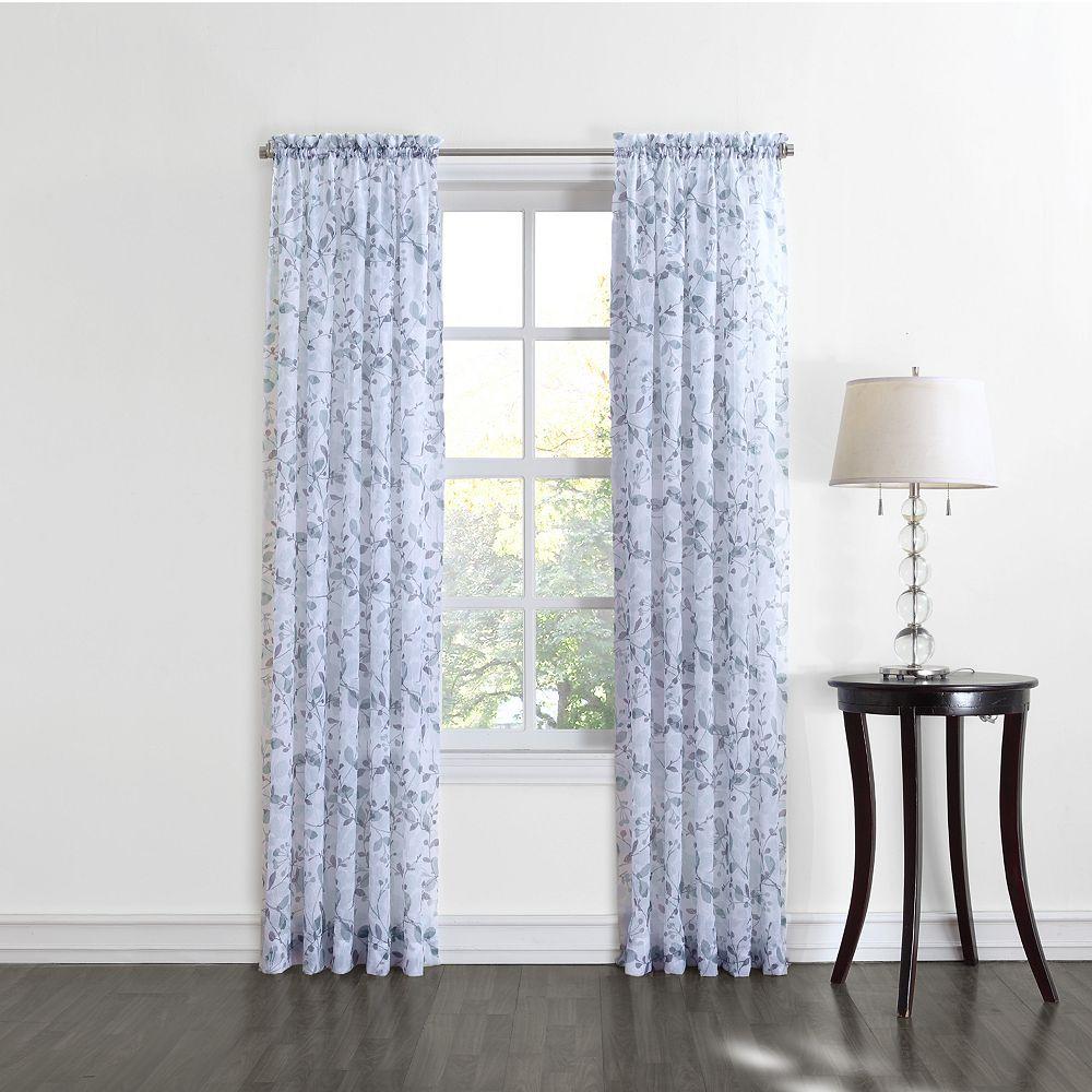 Home classicsgardner sheer voile curtain orange oth