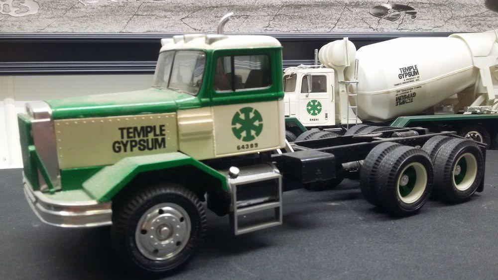 1 25 Autocar A 64b Tractor Semi Truck Old Amt Adult Built Trucks