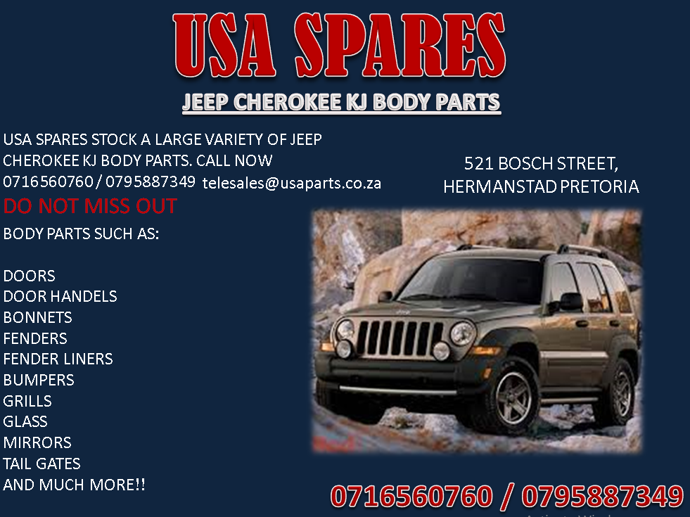 Jeep Cherokee Kj Used Body Spares We Deliver Usa Spares Stock A
