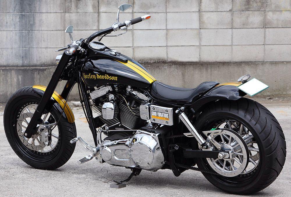 Sick Custom Dyna Wide Glide: Harley Bikes, Harley Wide