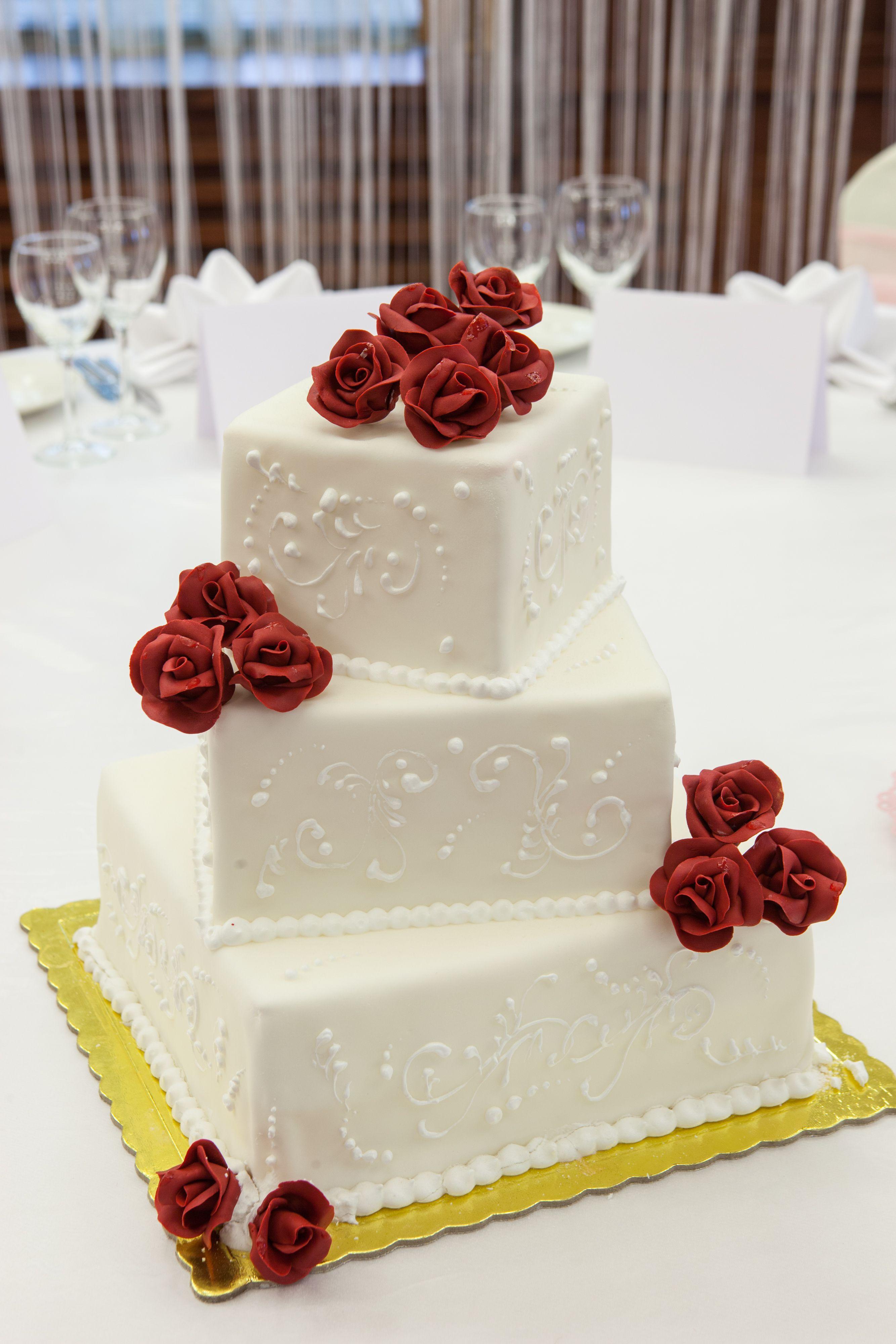 Grand Hotel Sofia Wedding Cake