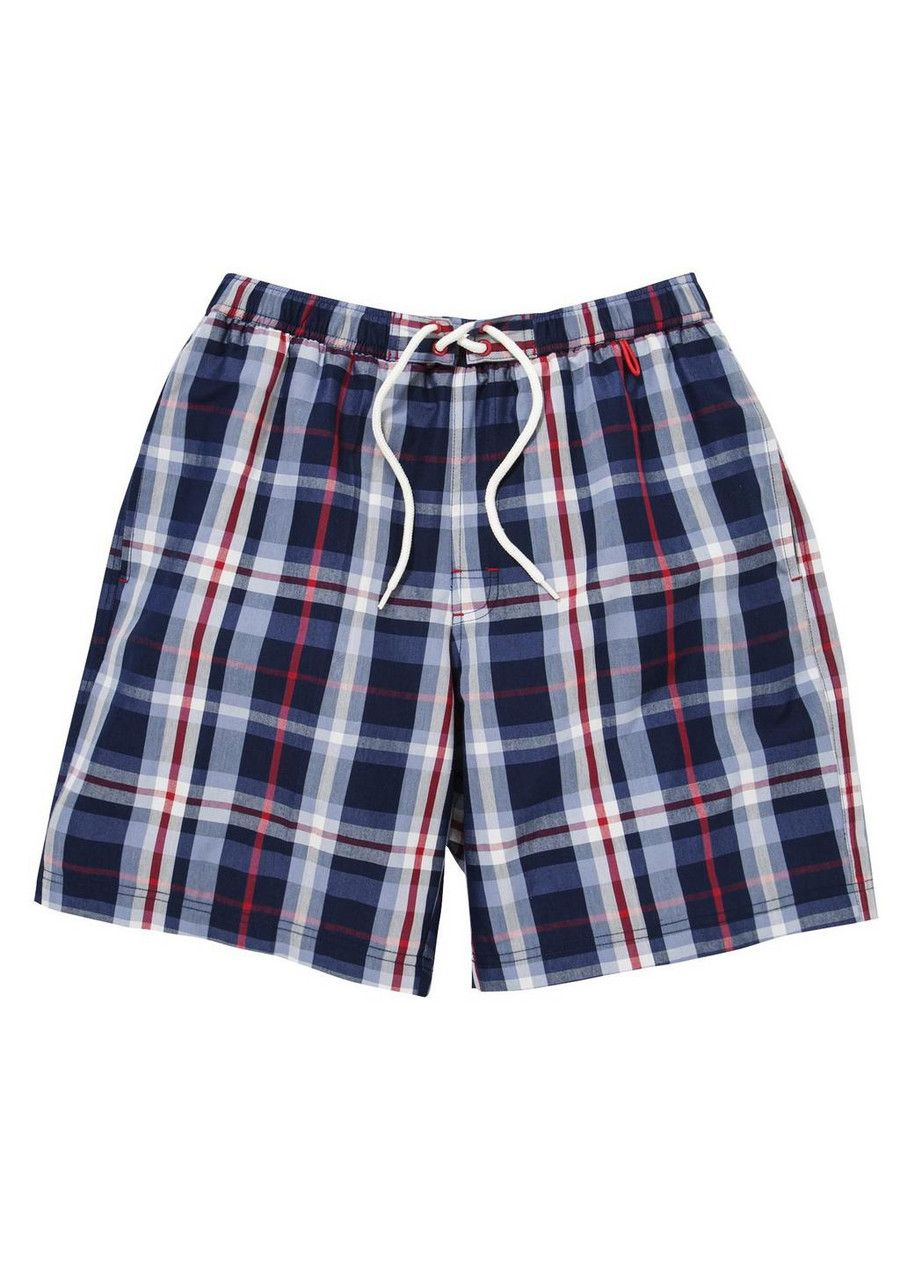 ef6ec41dc4 Clothing at Tesco | F&F Checked Swim Shorts > swimwear > Swimwear > Men