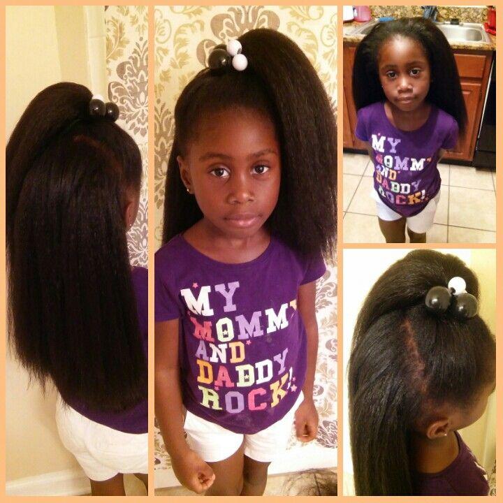 Kanekalon Braiding Hair Crochet Little Girls Style Natural Hair