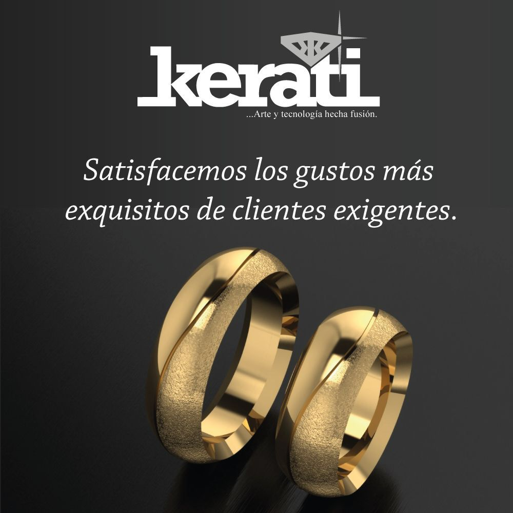 Aros de matrimonio  www.kerati.com.ve