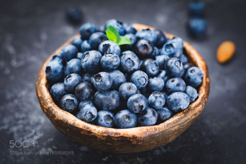 Fresh blueberries in bowl by Arx0nt  IFTTT 500px