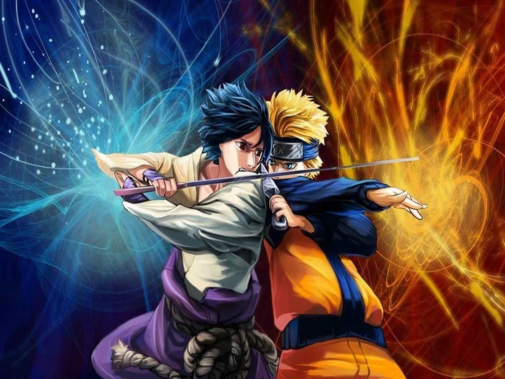 Naruto Vs Sasuke 4k Wallpaper High Quality On Wallpaper 1080p Hd Dengan Gambar Naruto And Sasuke Naruto Karakter Animasi