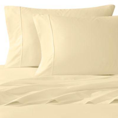 Wamsutta 400 Thread Count Sheet Set Butter Sateen Sheets Wamsutta Bed Bath And Beyond