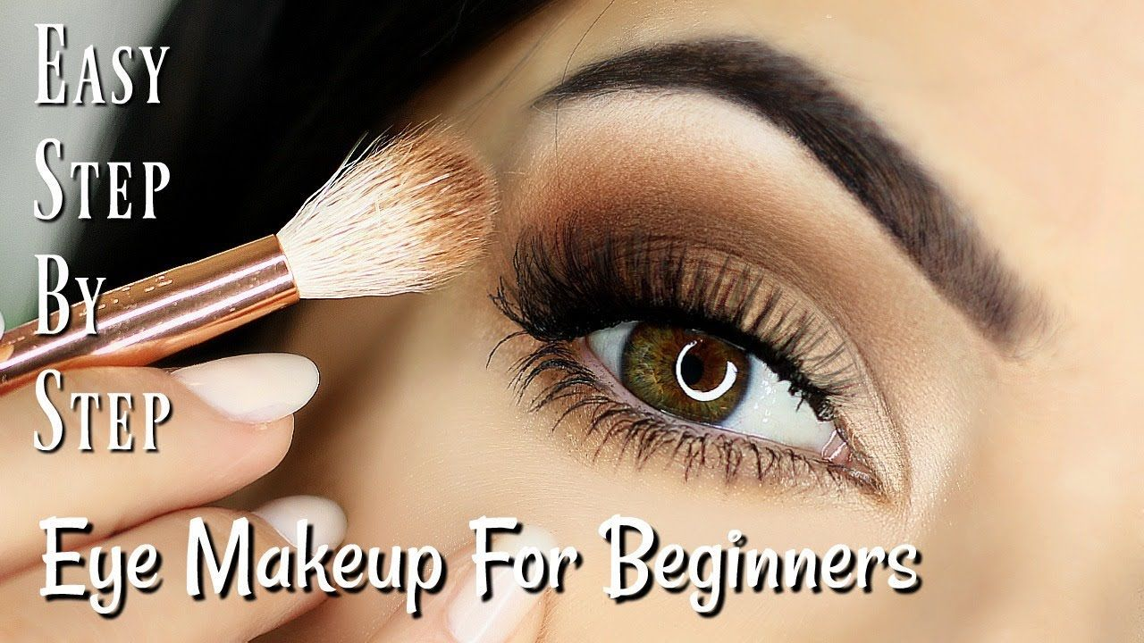 Beginner Eye Makeup Tips Tricks Step By Step Eye Makeup For All