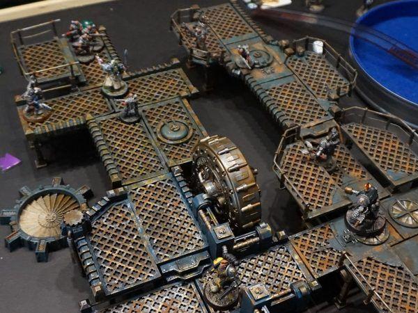 3D printed Deathwatch: Overkill board!   Laser cut stuff