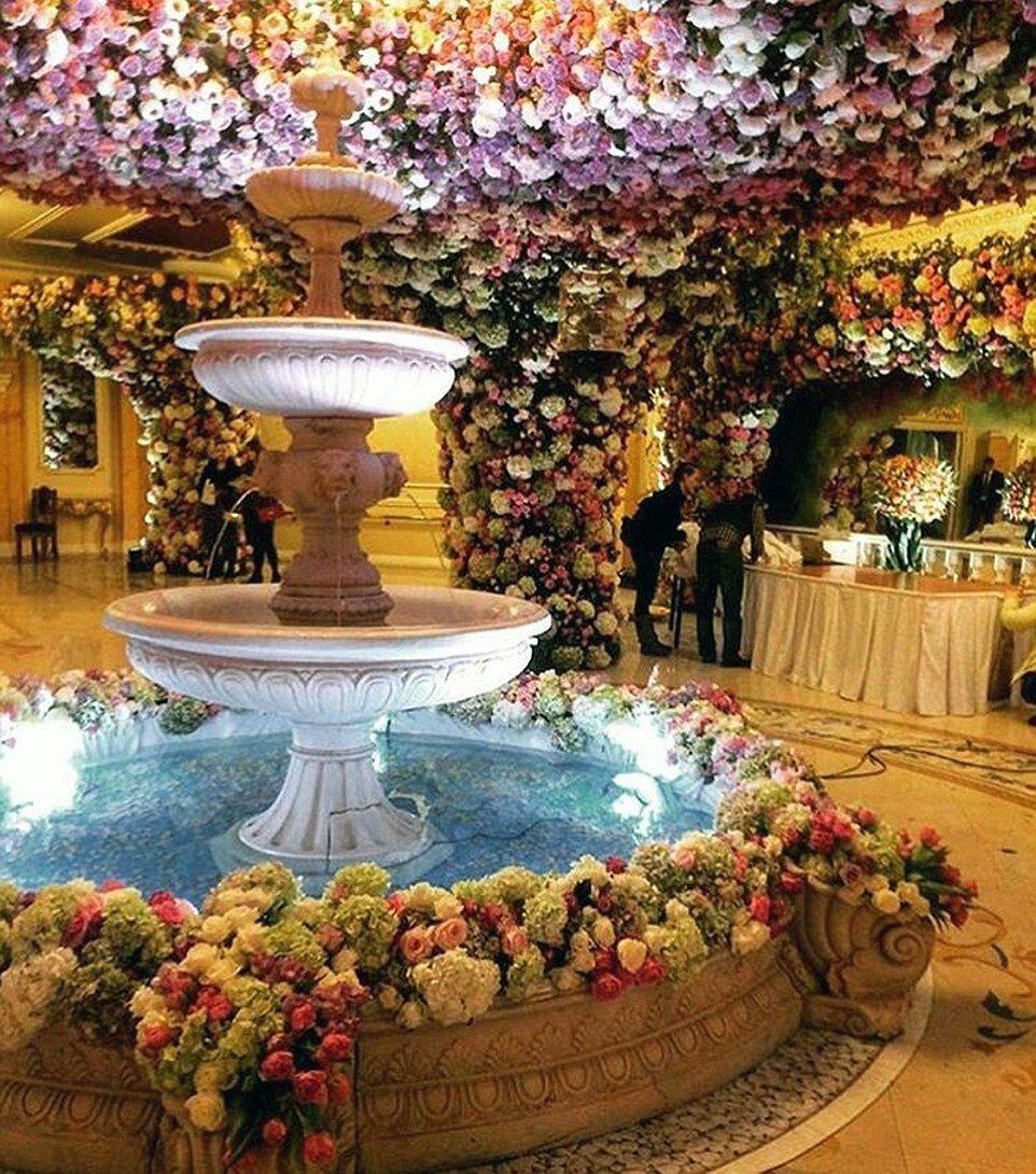 Inside An Oligarch S Multi Million Pound Wedding Extravagant Wedding Wedding Dubai Wedding