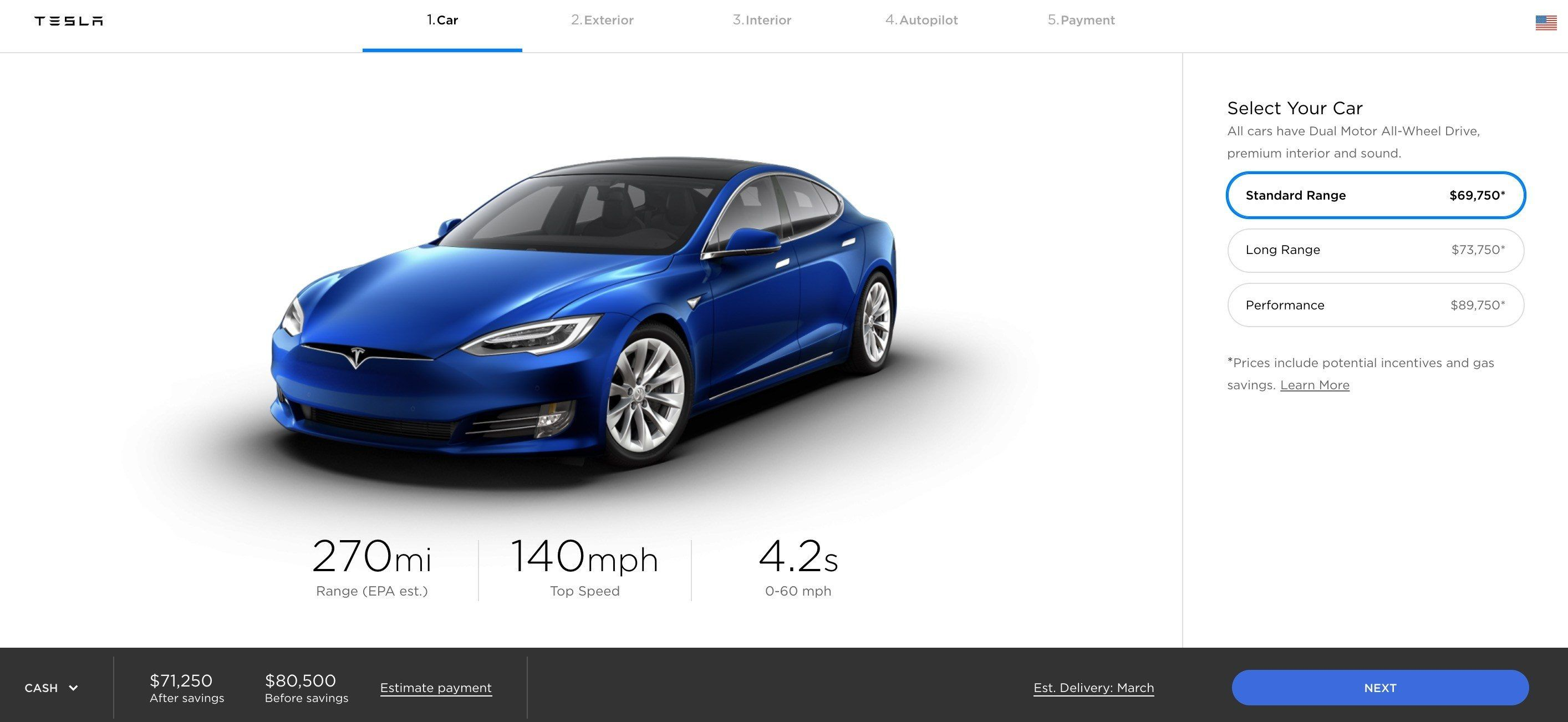 Tesla Delays Price Increase Boost Orders At The End Of The