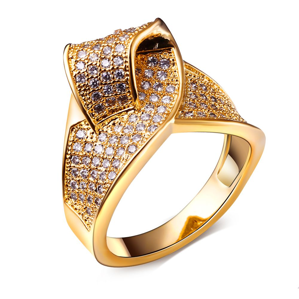 Vintage 18K Gold Filled Jewelry Finger Ring | latest jewelry ...