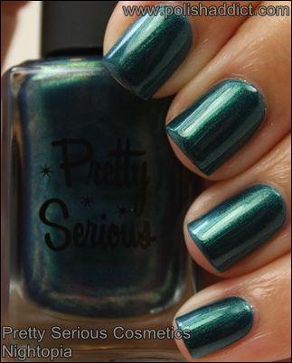 Pretty Serious Cosmetics Nightopia #nailpolish #swatches #prettyseriouscosmetics