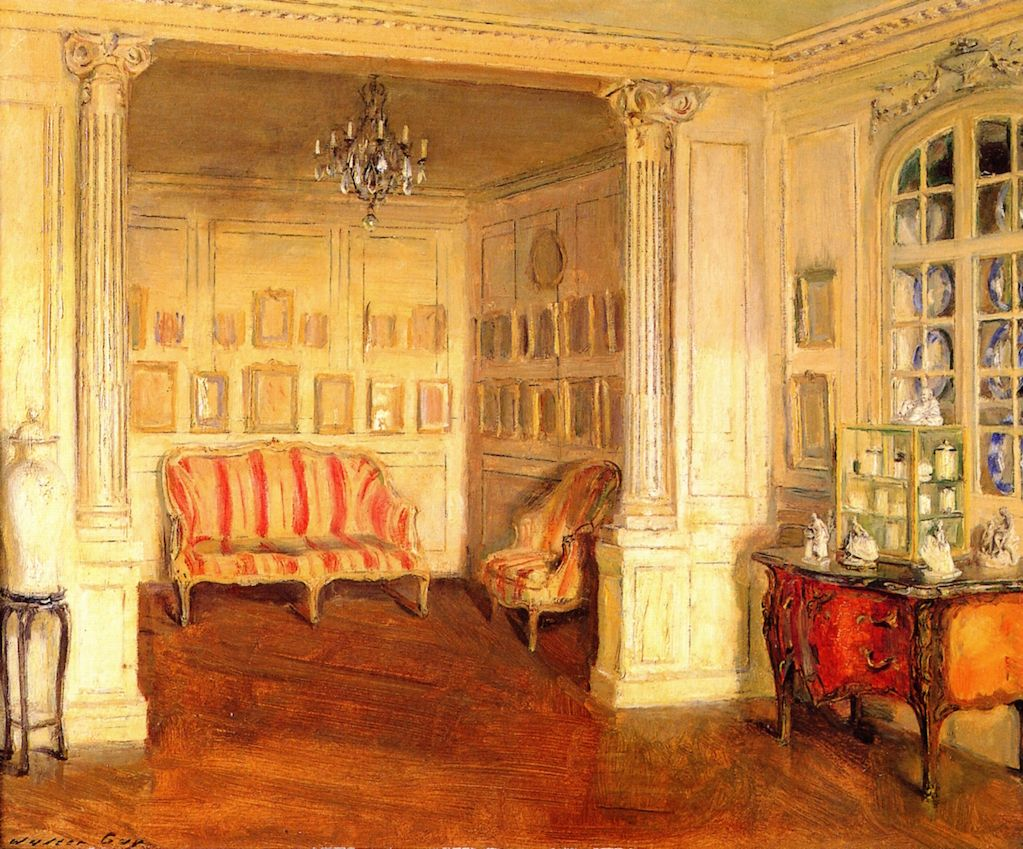 Apartment of Pierre Decourcelle (Walter Gay)